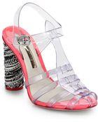 Sophia Webster Rose Jelly Sandals - Lyst