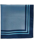Hugo Boss Silk Pocket Square - Lyst