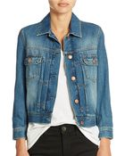 French Connection Denim Jacket - Lyst
