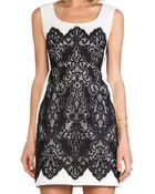Nanette Lepore Kissing Booth Lace Dress - Lyst