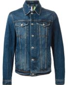 MSGM Denim Jacket - Lyst