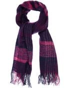 Oasis Woven Check Scarf - Lyst