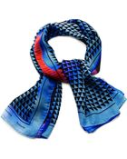Proenza Schouler Printed Silk-Chiffon Scarf - Lyst