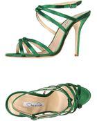 Oscar de la Renta Sandals - Lyst