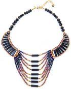 Nakamol Multicolor Beaded Bib Necklace - Lyst