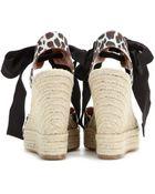 Stella McCartney Rocio Platform Wedge Sandals - Lyst