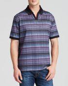 Robert Graham South Pacific Plaid Short-Sleeve Polo Shirt - Lyst