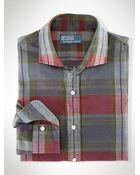 Polo Ralph Lauren Linen Madras Estate Shirt - Lyst