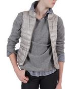 Herno Fitted Vest - Lyst