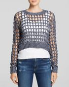 Lucy Paris Sweater - Sequin Net - Lyst