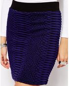 Just Female Textured Skirt Co-Ord - Lyst