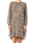 Hoss Intropia Silk Dress - Ves.1635.618 - Lyst