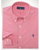 Polo Ralph Lauren Slim-Fit Gingham Sport Shirt - Lyst