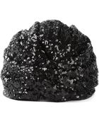 Saint Laurent Turban Style Hat - Lyst
