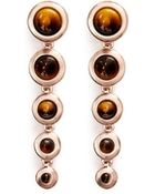 Eddie Borgo Graduated Gemstone Cone Drop Earrings - Lyst