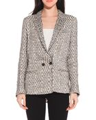 Giada Forte Patterned Jacket - Lyst