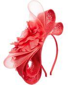 Coast Floral  Bow Fascinator - Lyst