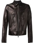 Giorgio Brato Front Zipped Pocket Jacket - Lyst