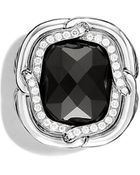 David Yurman Labyrinth Ring With Diamonds - Lyst