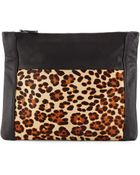 Ash Domino Fold-Over Clutch - Lyst