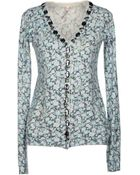 Scee By Twin-set Cardigan - Lyst