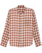 Steven Alan Plaid Classic Collegiate Shirt - Lyst