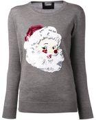 Markus Lupfer Santa Claus Sweater - Lyst