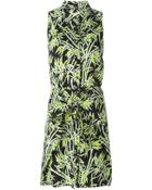 MICHAEL Michael Kors Foliage-Print Dress - Lyst