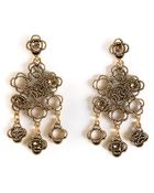 Oscar de la Renta Chandelier Earrings - Lyst
