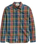 H&M Checked Cotton Shirt - Lyst