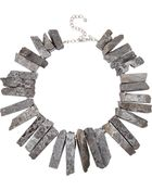 Kenneth Jay Lane Agate Necklace - Lyst