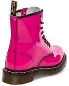 Dr. Martens 1460 W 8-Eye Boot - Lyst
