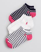 Ralph Lauren Blue Label Low Cut Ankle Socks, Set Of 3 - Lyst