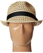 Tommy Bahama Deluxe Paper Braid Fedora - Lyst
