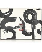 Proenza Schouler The Lunch Bag Large Printed Leather Clutch - Lyst