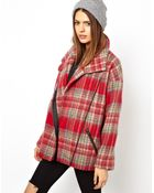 Asos Duffle Coat In Cocoon Fit - Lyst