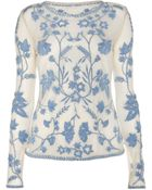 Temperley London Clover Top - Lyst