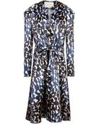 Maison Rabih Kayrouz 3/4 Length Dress - Lyst
