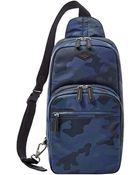 Fossil Camouflage Backpack - Lyst