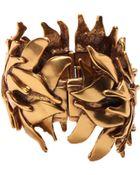 Oscar de la Renta Leaf Bracelet Leaf Bracelet - Lyst