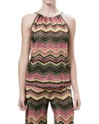 M Missoni Halter Top - Lyst