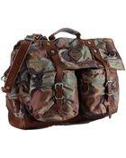 Polo Ralph Lauren Camo Nylon Messenger Bag - Lyst