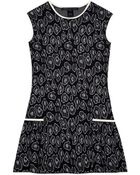 Marc By Marc Jacobs Cassidy Jacquard Side Pleated Dress - Lyst