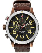 Nixon 48-20 Chronograph Watch - Lyst