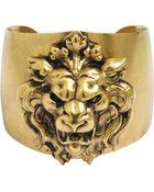 Ela Stone Lion Cuff - Lyst