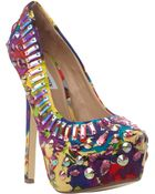 Steve Madden Platform Stiletto Court Shoes - For Women - Lyst