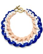 Tory Burch Resin Link Color-Block Necklace - Lyst
