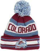 New Era Kids Colorado Avalanche Jacob Pom Knit Hat - Lyst