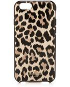 Kate Spade Leopard Ikat Iphone 6 Case - Leopard - Lyst