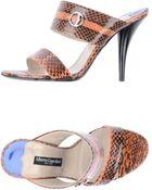 Alberto Guardiani High-heeled Sandals - Lyst
